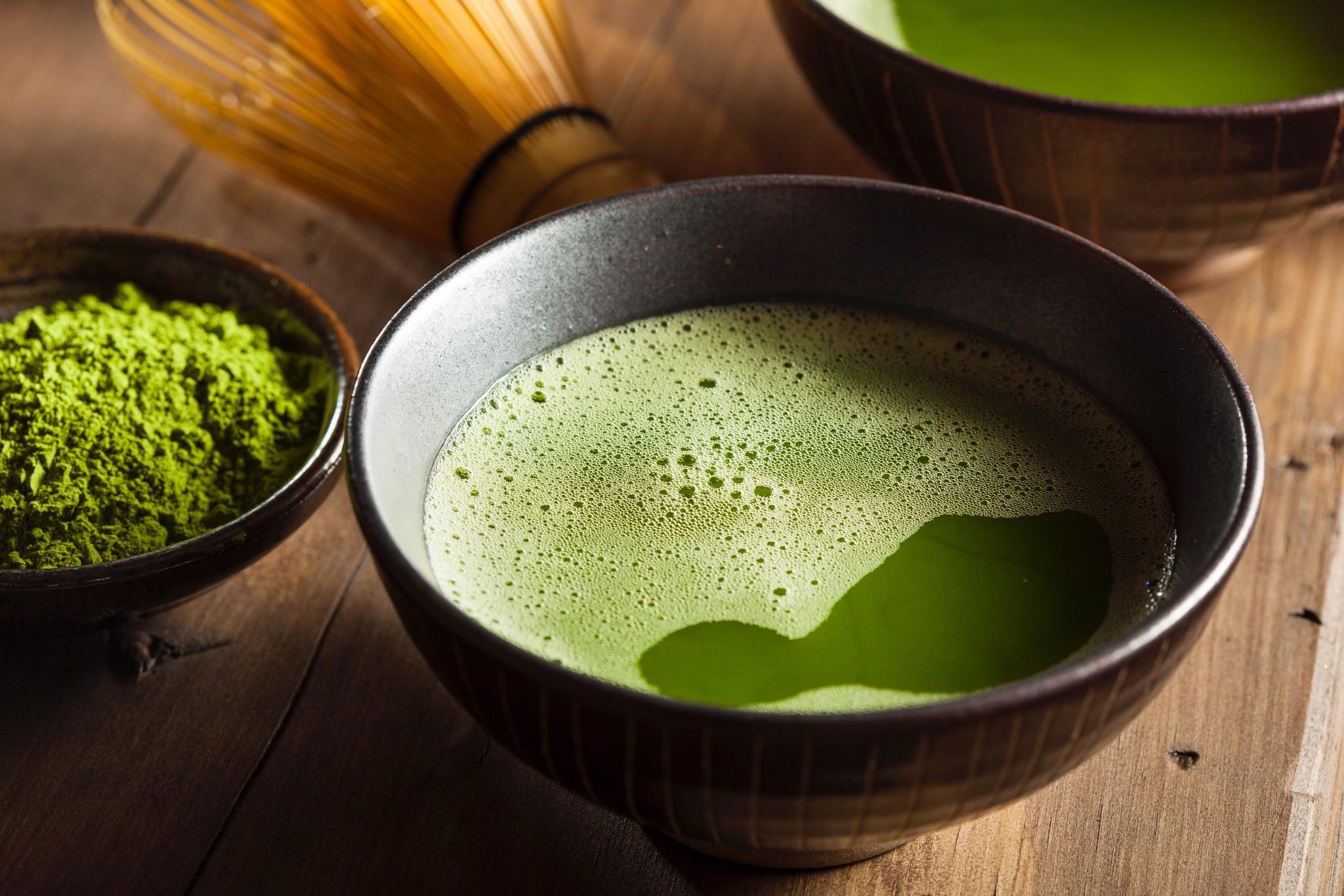 Bột trà xanh giúp ngăn chặn và đẩy lùi ung thư