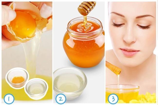 Mặt nạ từ trứng và mật ong giúp dưỡng da hiệu quả