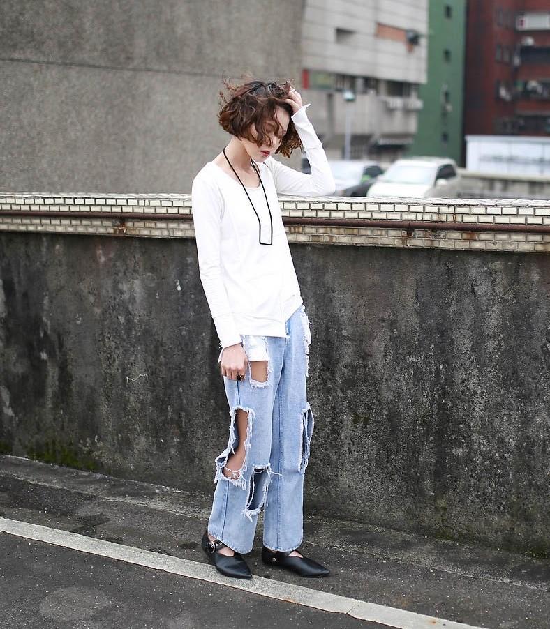 Đây là một trong những kiểu quần jeans khiến các nàng bị mất điểm vô cùng