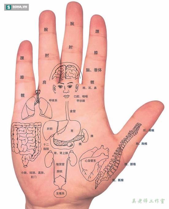 Massage tay giúp loại bỏ stress