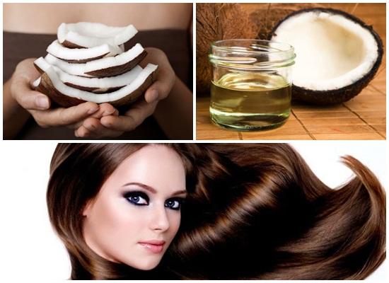 Ủ tóc bằng dầu dừa giúp tóc mau dài